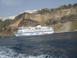 Cruise Ship Sinking Santorini by Sea Diamond Sinks In Santorini Accident Intended Outcomes