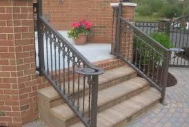 Freedom Somerset 7075in X 33in Black Aluminum Porch Railing At