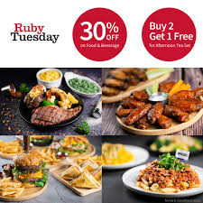 Ruby Tuesday – 30% OFF On Food & Beverage | Butterfly Hotels Ruby Tuesday Of Minot Posts North Dakota Menu Free Birthday Treat At Restaurant Giftout Olive Garden Coupons Coupon Code Promo Codes January 20 Appetizer With Entree Purchase Via Savvy Spending Tuesdays B1g1 Free Burger Coupon On 3 Frigidaire Filter Code Vnyl Amtrak Codes April 2018 Tj Maxx Wwwrubytuesdaycomsurvey Win Validation To Kfc Cup Tea Save Gift Cards For Fathers Day Flash Sale Burger Minis 213 5 From 11