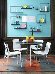 Dining Room Wall Ideas View In Gallery Of Shelves Table Decorating