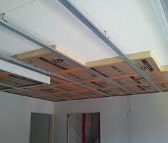 plafond a caisson suspendu ide faux plafond decoration idees de cantonniere cuisine moderne