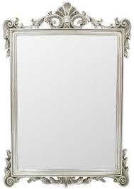 casa padrino barock spiegel silber 75 x h 110 cm wandspiegel im barockstil antik stil garderoben spiegel wohnzimmer spiegel barock möbel