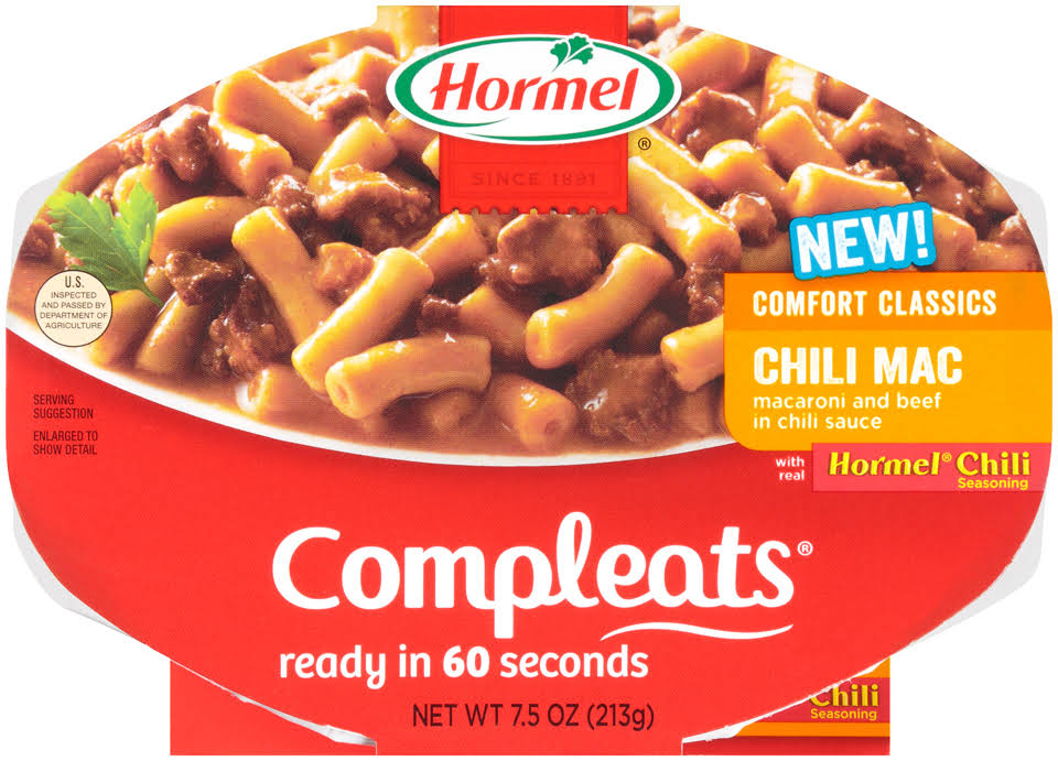 Hormel Compleats Chili Mac - 7.5 oz