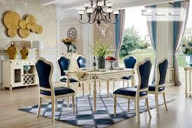 6x stuhl klassische rokoko barock sessel stühle lehn stuhl polster esszimmer 801