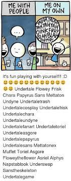 25 Best Flowey Memes