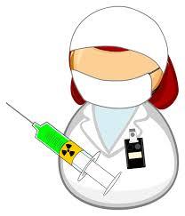 Nuclear medicine worker