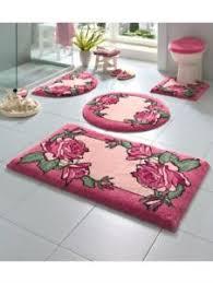 details zu grund badematten wc vorlage o a rund rosa badematte