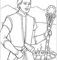 Barbie Ken Coloring Pages And The Magic Of Pegasus Images Mop Page Hd Kids