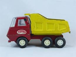 Vintage Tonka Red/yellow Small Dump Truck Pressed Steel Metal Toy ... Amazoncom Toystate Cat Tough Tracks 8 Dump Truck Toys Games Munityplaythingscom T72 Small Dump Trucks Stock Image Image Of Builder Yellow 4553585 Tow Glens Towing Beckley Wv Dofeng Truck Model On A Road Transporting Gravel Plastic Toy Cstruction Equipment Dumpers Equipment Finance 1955 Antique Ford F700 Youtube