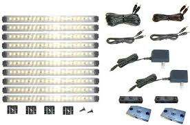 dimmable led cabinet lighting direct wire the union co