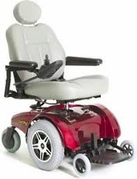 Jazzy Power Chairs Used by Pride Jazzy Select 14 Mid Wheel Drive Power Wheelchair