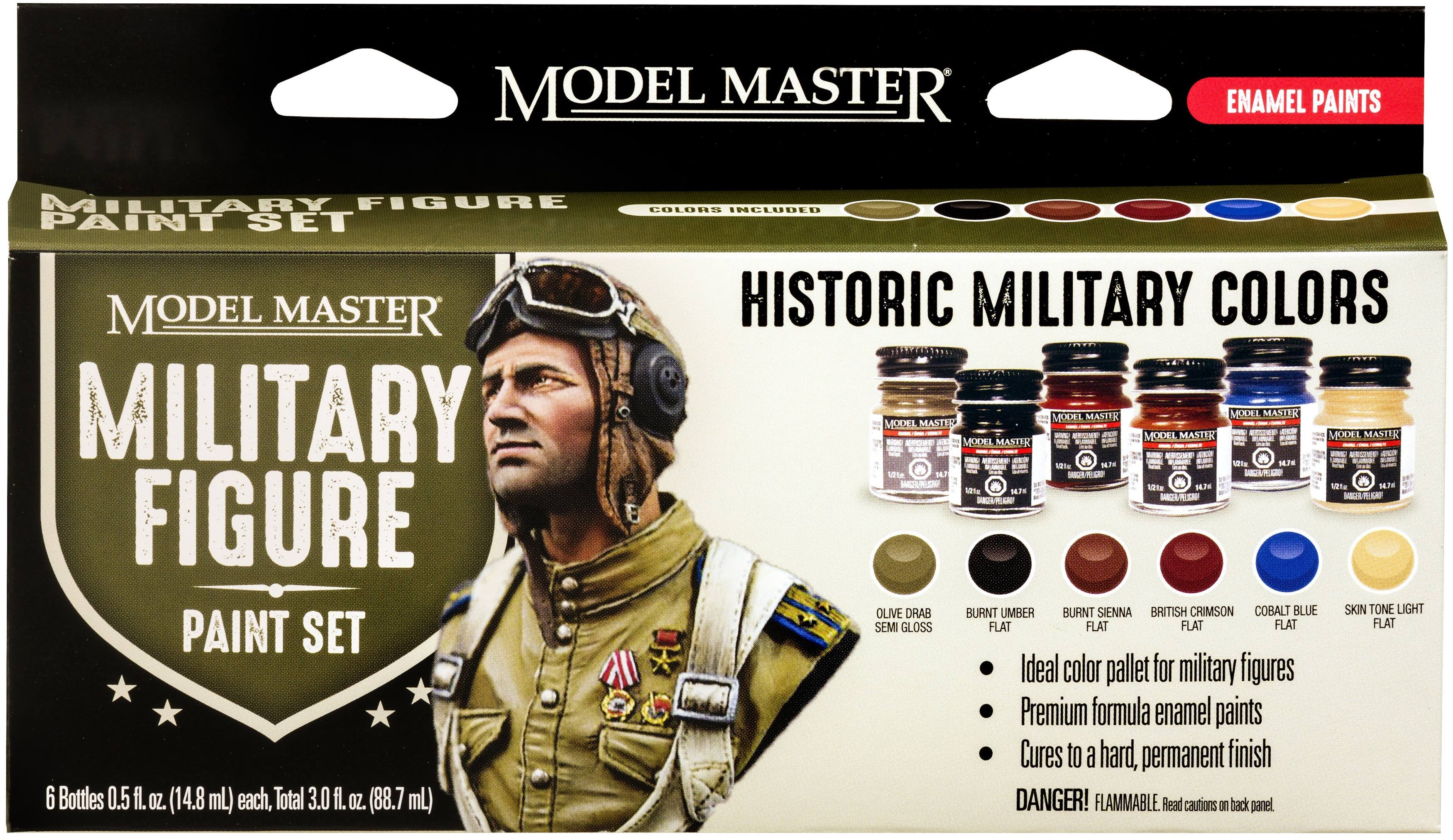 Military Figure Acrylic Paint Set Model Master
