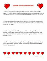 Mom Takes Candy From Kids by Valentine Word Problems Valentine Words Word Problems And