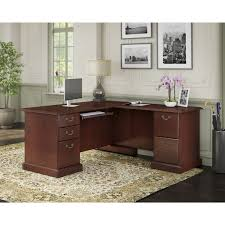 Bush Cabot L Shaped Desk Dimensions by Realspace Magellan Collection Corner Workstation Best Home