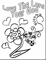 Unbelievable Printable Bible Coloring Pages Jesus With Loves Inside Love