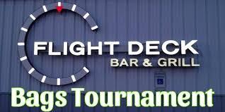 flight deck let it fly bags tournament tickets sat aug 26