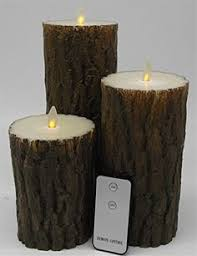 Halloween Flameless Taper Candles by Bright Zeal Set Of 10 Wax Drip Led Flameless Candles With Remote