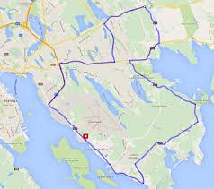 Convoy Route - Special Olympics Nova Scotia Truck Convoy