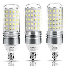 lohas 100w equivalent led candelabra light bulbs 12w led corn