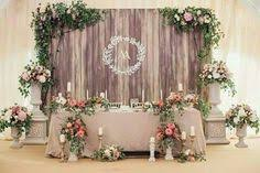 Without The Flowers Head Table BackdropPallet BackdropWedding CenterpiecesWedding DecorationsWedding Lighting DecorRustic