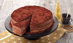 weihnachtliche schokoladenmousse torte
