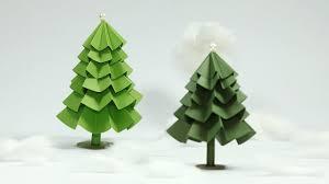 paper christmas tree craft diy christmas tree tutorial youtube