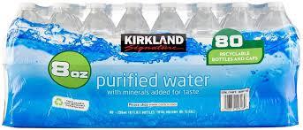 Kirkland Signature Premium Drinking Water 8 Oz 80 Count Amazon Grocery Gourmet Food