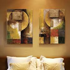 2015 collage of newspapers modern abstract painting decorative