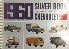 100 1960 Chevy Truck Chevrolet Silver Book Special Equipment Dealer Album