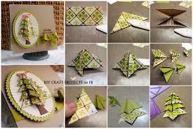 Barcana Christmas Tree Storage Bag by Origami Christmas Tree 3d Step By Step Christmas Lights Decoration