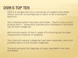 dsm 5 overhaul what s in out and relevant in the gp s world