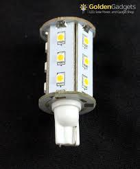 2 pack 921 194 led bulb 18 led wedge base tower 12v 300
