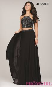 sparkly black lace beaded two piece prom party dresses u2013 designers
