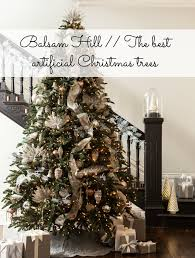 Best Christmas Tree Type Uk by Balsam Hill The Best Artificial Christmas Trees Hello Baby Blog