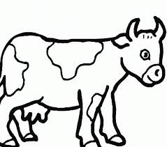 Cow Coloring Page Best Coloring Pages