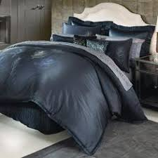 nicole miller feathers comforter set cal king blue peacock feather