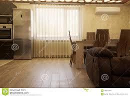 luxusvorhänge auf dem fenster modernes wohnzimmer mit einem