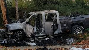 100 Burnt Truck Northern California Man Rescues 3 People From Burning NBC