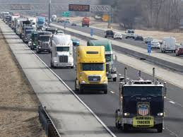 100 Indianapolis Trucking Companies A Truck Driver Protest That Was Supposed To Rock Had