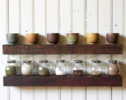 Barn Wood Floating Shelves Kitchen