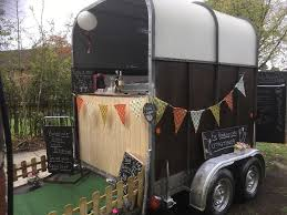 Vintage Horse Trailer Conversion Catering Bar Coffee Weddings Shop