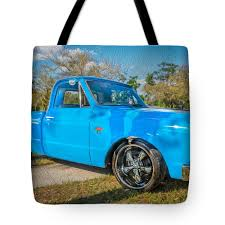 1967 Chevy Silverado Pick Up Truck Painted Tote Bag For Sale By Rich ... 1967 Chevy C10 Pickup Truck Hot Rod Network Wood Beds Bed Trucks Are You Fast And Furious Enough To Buy This 67 Silverado Pick Up Painted Fleece Blanket For Sale Chevrolet Youtube Ck Wikipedia Rare K10 4x4 Short Frame Off K20 4x4 Lane Classic Cars Rebuilt A To Celebrate 100 Years Of Truck Making 2015 Offers Custom Sport Package
