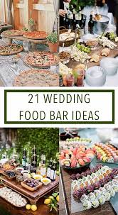 Best 25 Wedding Reception Food Ideas On Pinterest