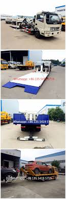 Dongfeng Small Flatbed Tow Truck Wrecker With High Quality, View ...