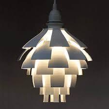 Laser Cut Lamp Shade by 25 Stylish 3d Printed Lamp Shades To Diy All3dp