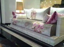 tissu canapé marocain tissus salon marocain décor salon marocain