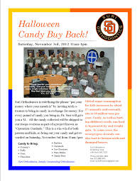 Operation Gratitude Halloween Candy Buy Back by Halloween Candy Buy Back Suri Orthodontics 501 821 5859