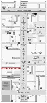 Crabtree Valley Mall Map large scale map