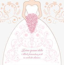 Wedding illustration Pink Wedding Dress Stick Figure Free PNG and Vector