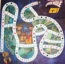 John Kenneth Muirs Reflections On Cult Movies And Classic TV Game Board Of The Week Black Hole Space Alert Whitman